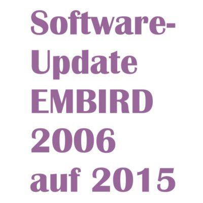 Update 2006 auf 2015