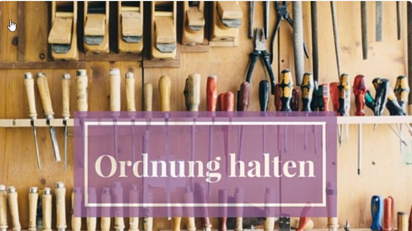 Schnupperkurs: Ordnung in Ihren Stickdateien mit dem Ordnungsbaum