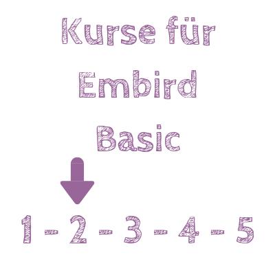 Embird Basic Kurse