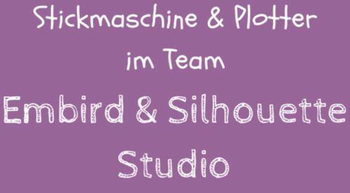 Embird & Silhouette Studio (Plotter)